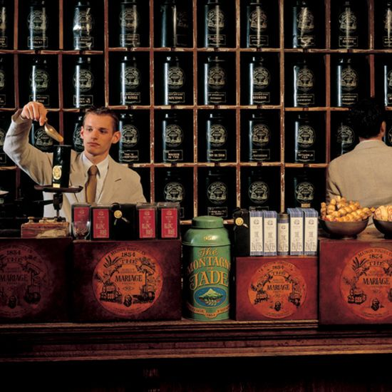 The World's Best Tea Shops - Tea drinking is a centuries-old practice with a rich history steeped in tradition. Fine purveyors across the world are enhancing the experience by offering tasting salons within their retail shops. Here, tea company boutiques that master the celebration of this ancient art.