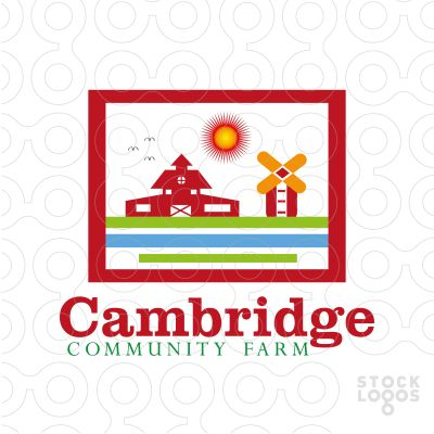 Unique Logo Cambridge - #logo #sale #farm #eco #farmer #plant #community #people