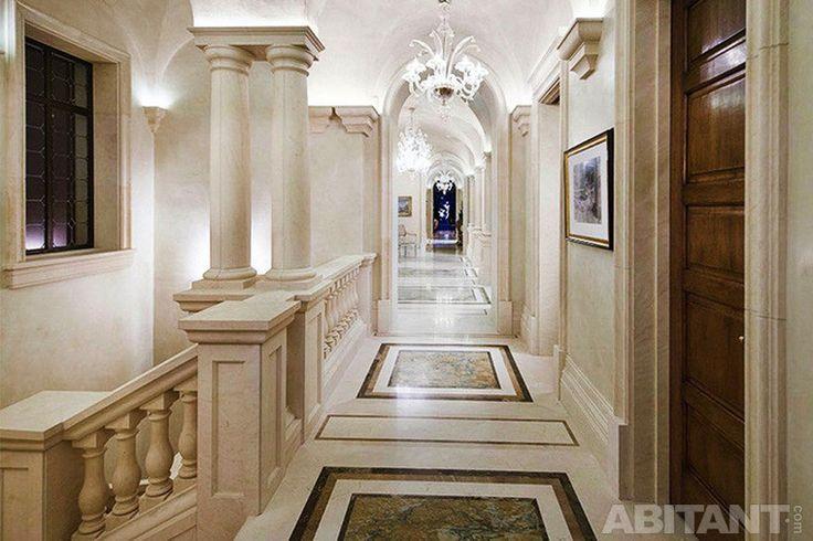 Частная резиденция в Монтесито. Воспроизведение интерьерной роскоши эпохи Палладия.