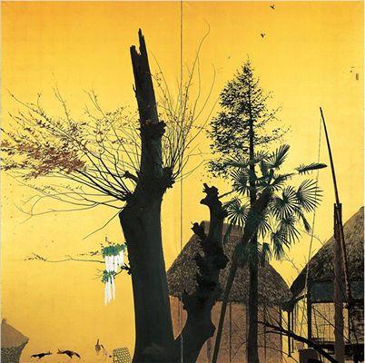 田中一村「秋晴」(1948)
