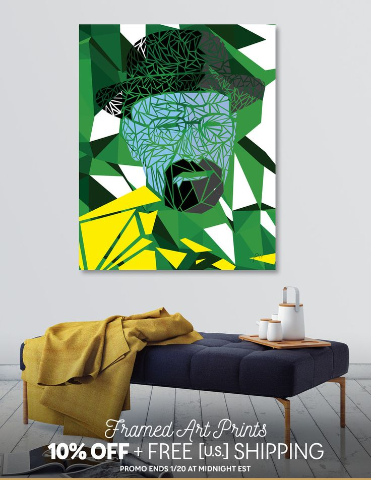 Discover «Breaking bad - Heisenberg», Limited Edition Canvas Print by Omar Gonzalez - From 75€ - Curioos