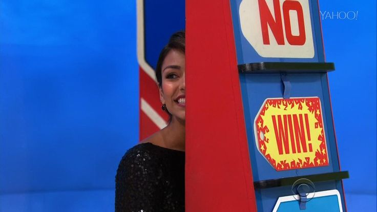 """The Price is Right model Manuela Arbelaez accidentally gave away the keys to a brand new car when she revealed the winning price before the game was over. Manuela joked about her mistake, tweeting, """"I don't usually give expensive gifts, but when I do is a $21,960 CAR."""" She also reassured everyone that, """"The producers and (Drew Carey) couldn't have been more supportive and understanding. I'm not in trouble."""""""