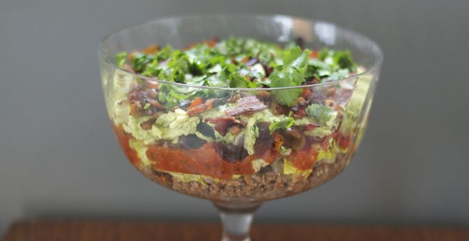 7 Layer Mexican Dip (Healthy, Paleo, and Dairy-free)