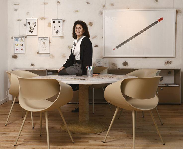 Les métiers du luxe ont le vent en poupe. Magali Wahl, Directrice de l'Ecole Eden. © Thierry Parel