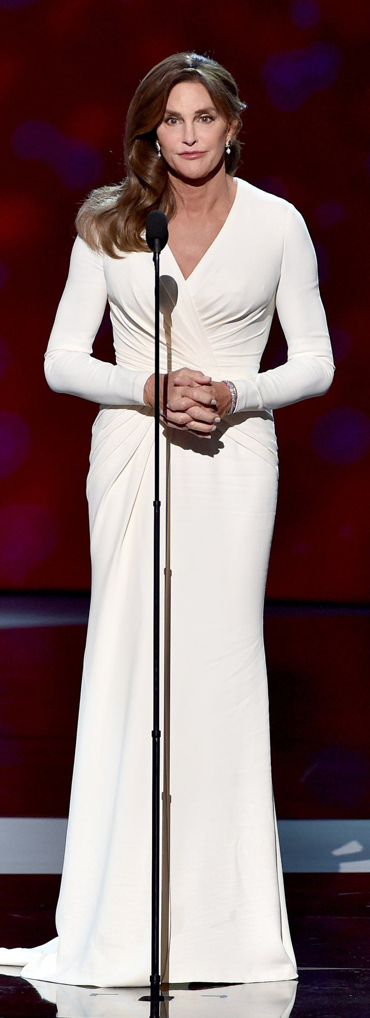 Caitlyn Jenner Wore the Most Elegant Versace Dress We've Ever Seen