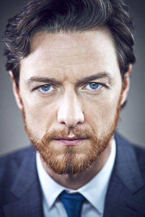 James McAvoy, still love his eyes and kinda the ginger beard.