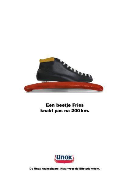 #elfstedentocht #newsjacking Unox (knakker)