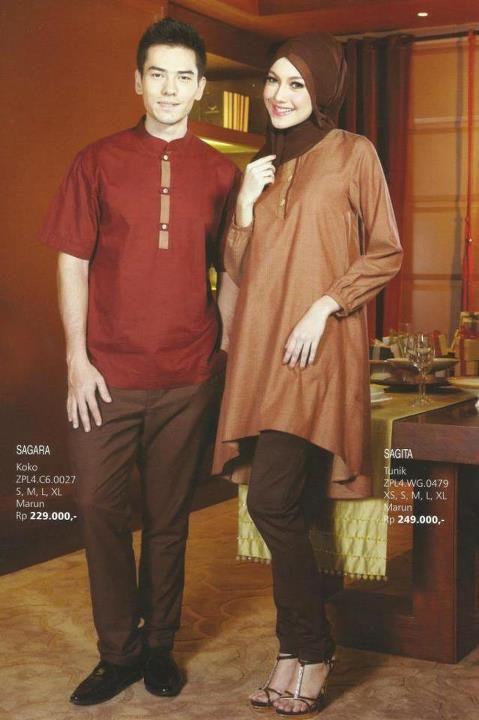 Katalog Busana Muslim Sarimbit Zoya Terbaru