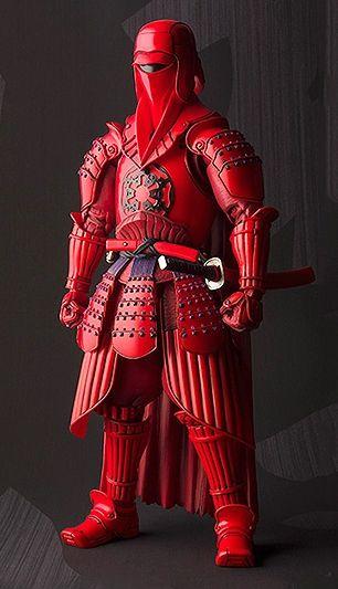 Star Wars Samurai Figurines by Tamashii Nations