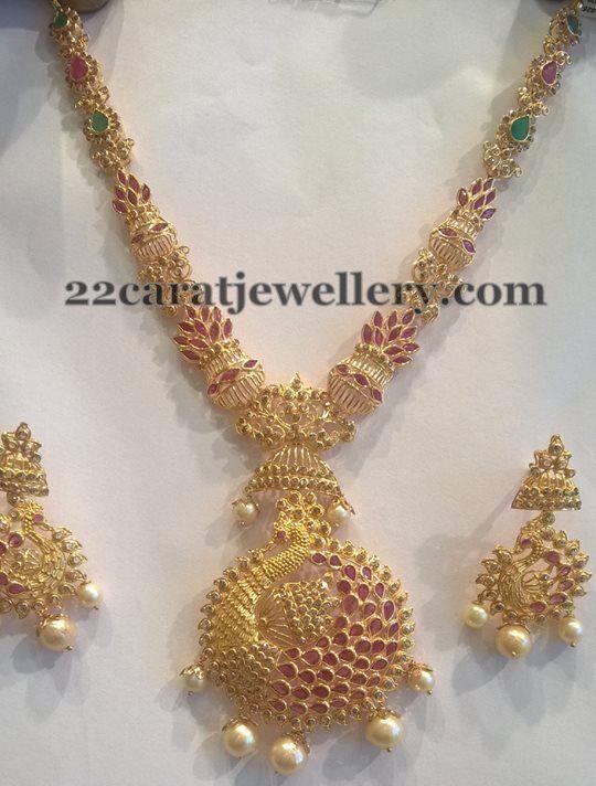 Jewellery Designs: Uncut Diamond Medium Size Necklace