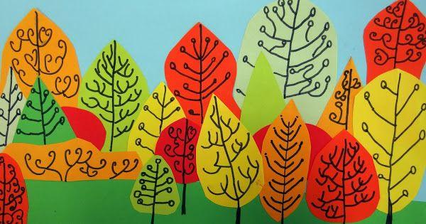 Podzimní les - 2. ročník
