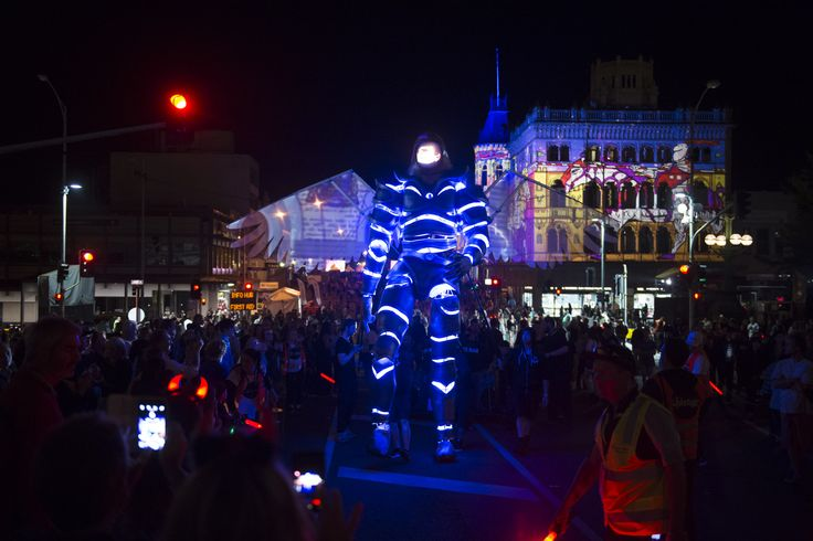 White Night Ballarat 'White Night Messenger' credit - SDP Media