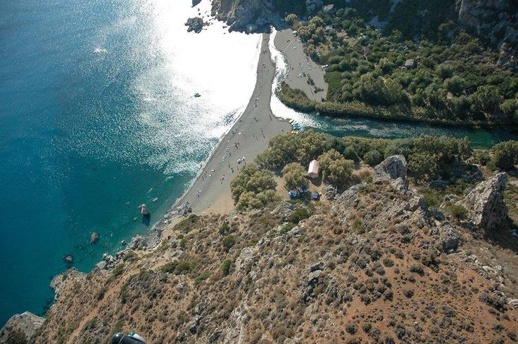 The Palm Grove and Bay of Preveli, on the south coast of Rethymno, Crete. https://www.facebook.com/SentidoPearlBeach/photos/pb.183158851731783.-2207520000.1446482838./870946922952969/?type=3