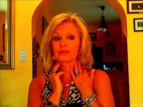 Remuscler son double menton et l'ovale du visage en anti âge - YouTube