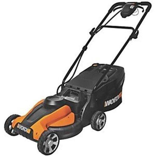 Worx 6358410 WG775 24V Electric Mower with Grass Catcher
