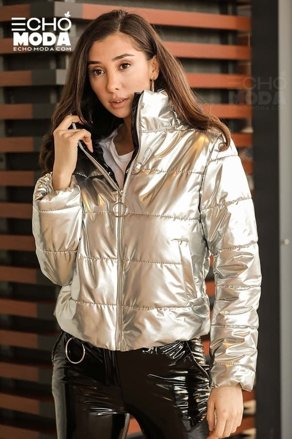 للبيع 16 جاكيت نسائي شتوي تركي أنيق موديل 2021 Bomber Jacket Winter Bomber Jacket Fashion