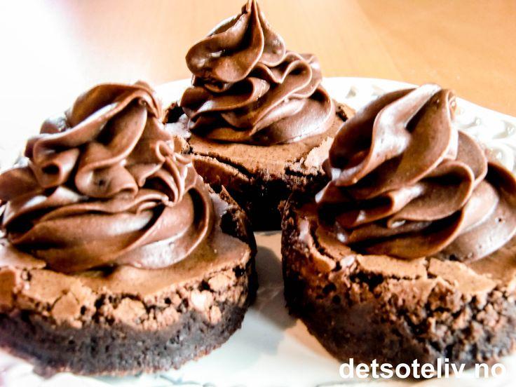Brownies med Dumlekrem