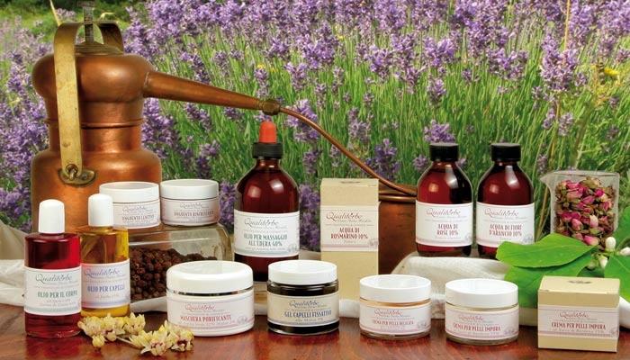QUALITERBE.   Impresa etica che si occupa della ricerca, produzione, distribuzione e vendita di prodotti fitoterapici e fitocosmetici di altissima qualità.