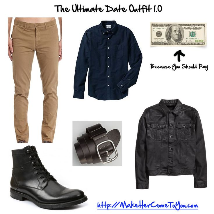 The ultimate date outfit.  100 bux cash because yes you should pay. This outfit is very versatile and will never go out of style. The boots will last for years. The wax denim will always look badass.   #mensstyle #mensfashion #mensstreetstyle #dapper #streetstyle #wiwt #mensstyleguide #instafashion #handsomeguysecrets #teamhandsomeguy #datingadvice #firstdate