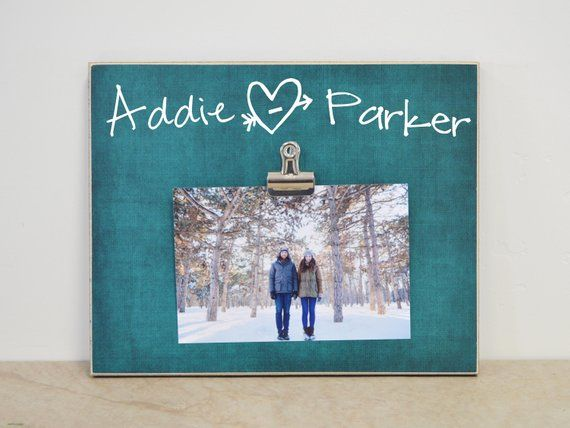 Personalized Valentines Gift For Boyfriend, Custom Photo Frame Girlfriend Gift For Her