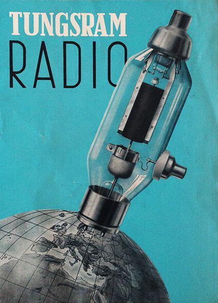 Tungsram Radio Lamp - 1940