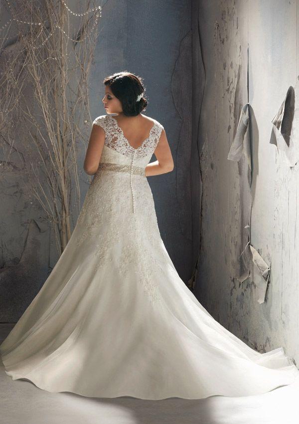 julietta wedding dresses | Plus Size Wedding Dress of the Week} Style 3144 by Julietta {Mori Lee ...