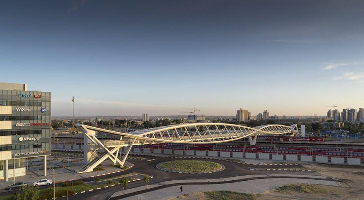 Gallery of The High-Tech Park Bridge / Bar Orian Architects - 6