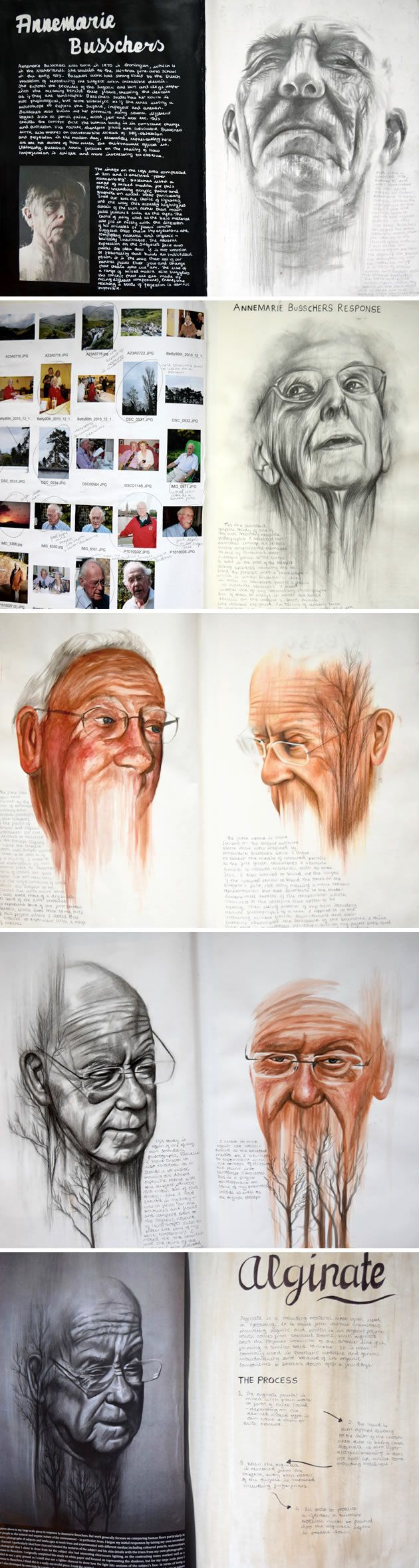 17 best ideas about a level art gcse art sketchbook 100% a level art portraiture development inspired by annemarie busschers emily fielding kennet