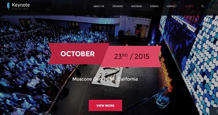 20 Best #WordPress Themes For Conference and Event Management!