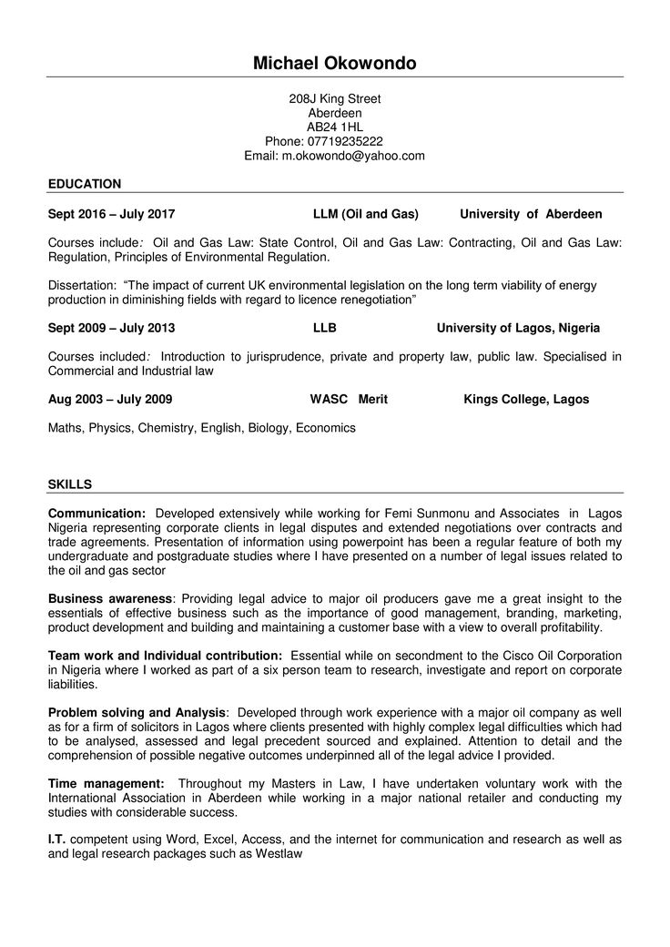 Marketing Resume How to draft a Marketing Resume