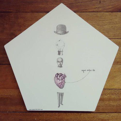 """ Donde estas tú? "" posa calientes pieza única #Himallineishon #homedecor #handpainted #illustration #art"