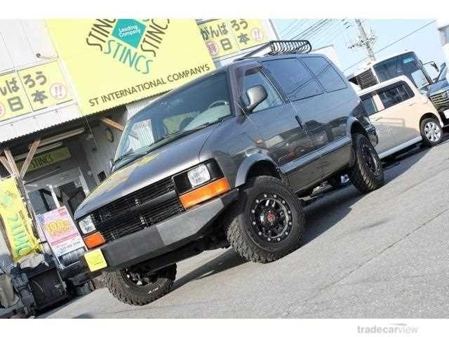 2000 Chevrolet Astro GF-CL14G LS 4WD