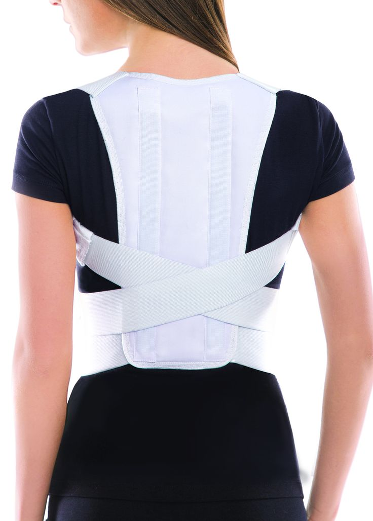 Posture Brace should be worn for 3-4 hours daily. First couple of days wear it for 15-25 minutes only, than add 20 minutes every day. Your back and shoulders will slowly adjust and you will build musc