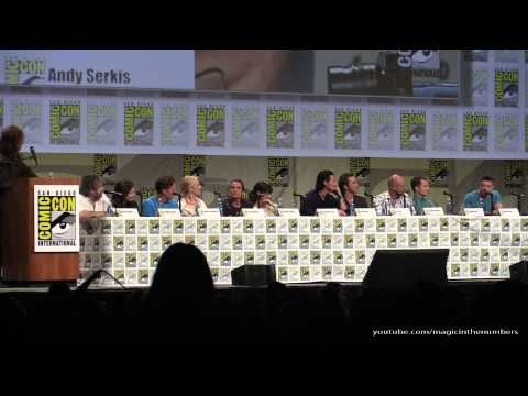 July 26, 2014 ~ San Diego Comic Con panel THE HOBBIT: THE BATTLE OF THE FIVE ARMIES featuring director Peter Jackson, and cast including Benedict Cumberbatch. (55:36) [Video]