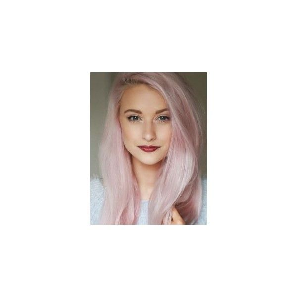 Pastel Hair Color 8 Pro Tips for Achieving and Maintaining It ❤ liked on Polyvore featuring hair