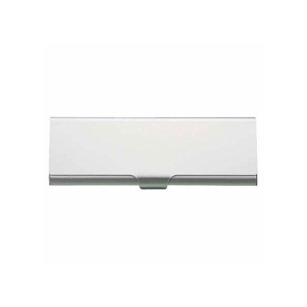 Aluminum Pen Case Box by Muji