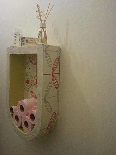 etagere murale en carton travaux manuels 1 pinterest. Black Bedroom Furniture Sets. Home Design Ideas