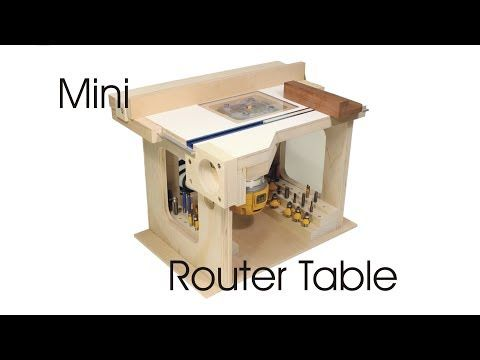 Designing and Building a Mini Workbench - YouTube