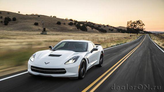 Chevrolet Corvette Stingray 2016  / Шевроле Корвет Стингрей 2016 – вид спереди