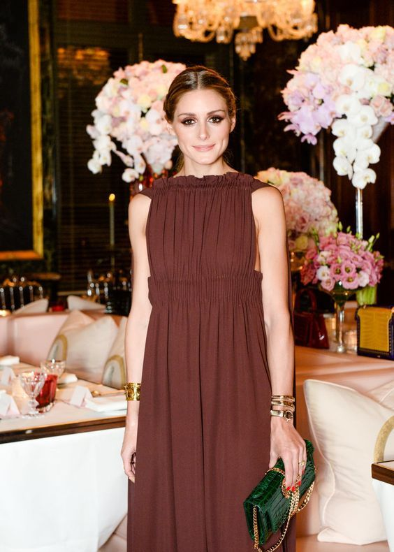 The Olivia Palermo Lookbook : Olivia Palermo at Valentino Dinner in Paris