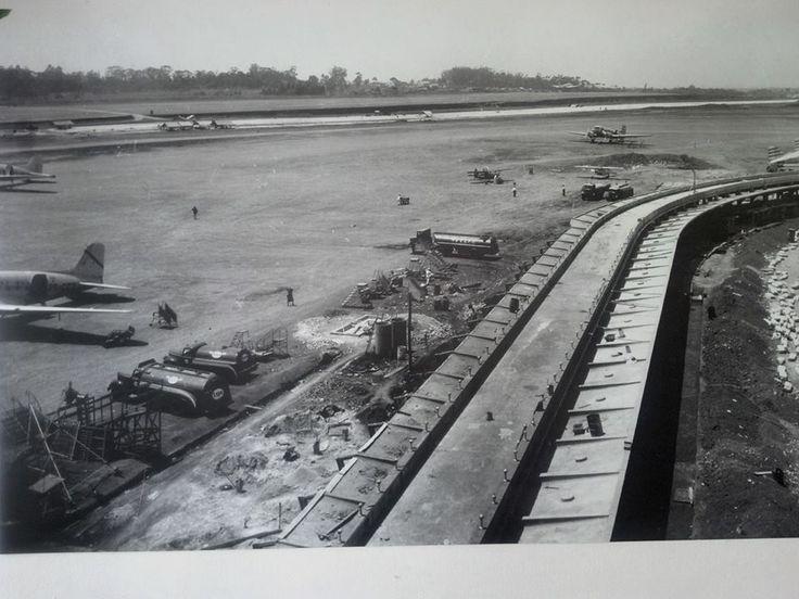 1935-36 - Aeroporto de Congonhas em construção.
