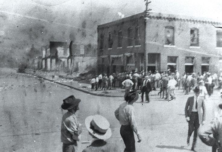 Black Wall Street Tulsa 1921 Black History Human Behavior