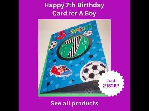 Happy 2nd Birthday Card For A Boy