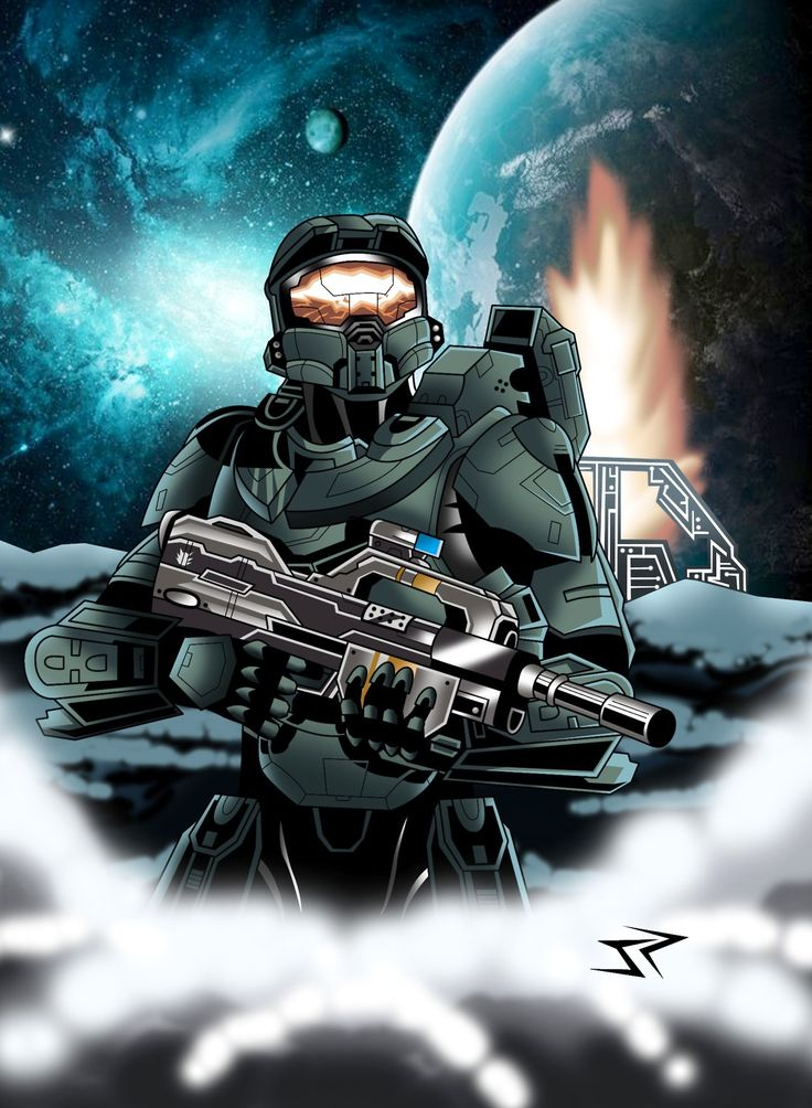 113 best images about game characters on pinterest - Master chief in halo reach ...