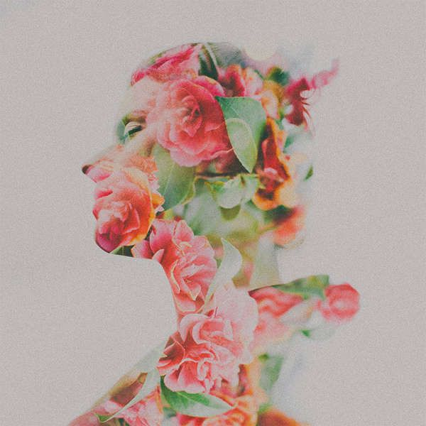 Multiple Exposure Floral Photography - These Double Exposure Photos by Sarah Byrne are Beautiful (GALLERY)