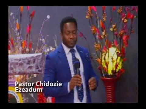 PASTOR CHIDOZIE EZEADUM...24 Sep Sun Preaching