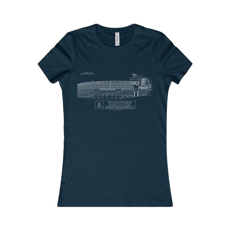 Neyland Stadium Women's Favorite Short-Sleeve Tee