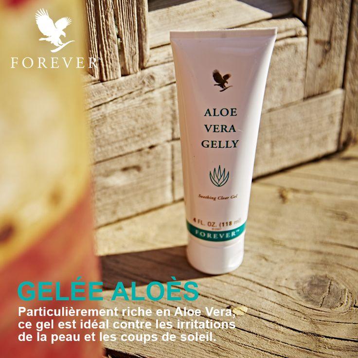 Lumière sur la Gelée Aloès Forever ! Particulièrement riche en Aloe Vera, ce gel transparent non gras hydrate et régénère l'épiderme. #Forever #AloeVera