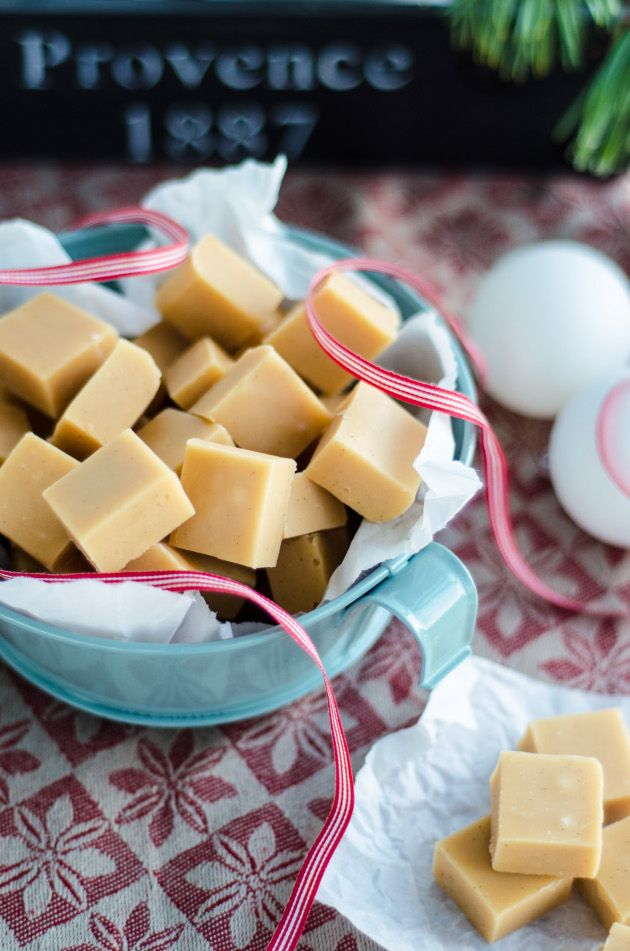 Creamy Vanilla Fudge - you will have to scroll down to find the English version
