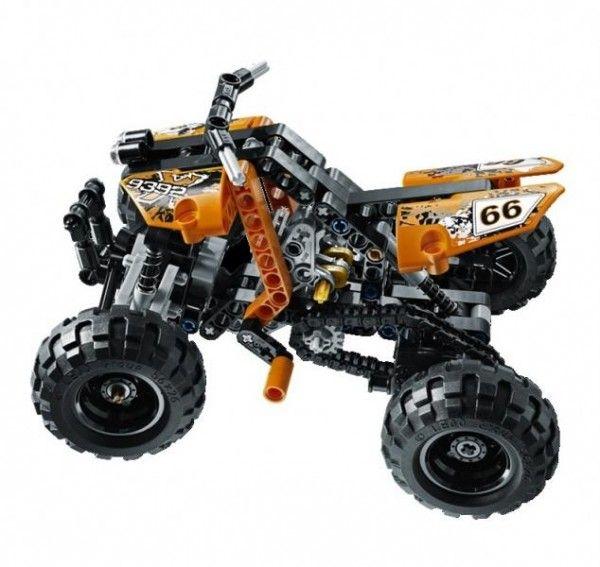 Pret redus la LEGO Lego Technic - ATV - http://www.outlet-copii.com/outlet-copii/jucarii-copii/pret-redus-la-lego-lego-technic-atv/ -